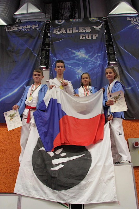 Mightyfist Eagles Cup 2018 - Škola Taekwon-Do ITF Strančice - medailisté